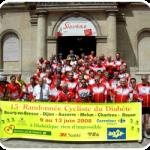 photo de l'ensemble du peloton de la RCD dans une mairie.